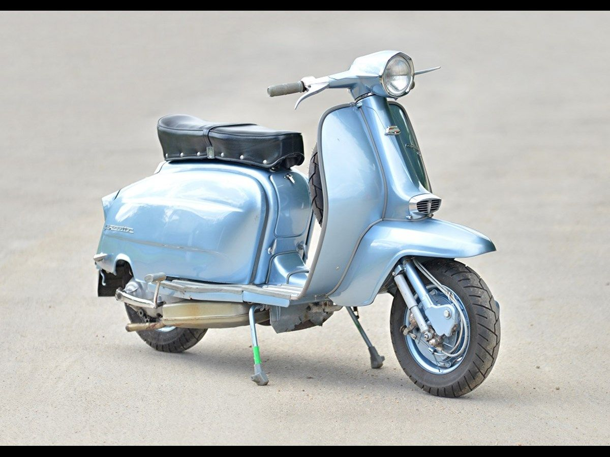 The Trade Archive Lambretta Motorcycle Scooter