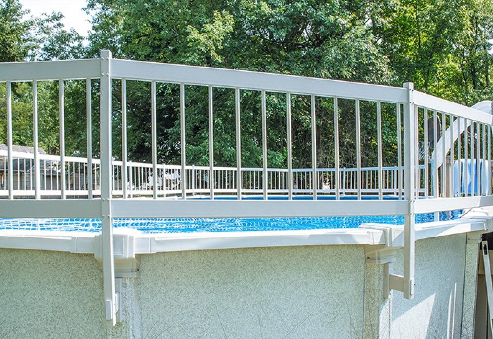 Gli above ground pool fence addon kit c 2 sections