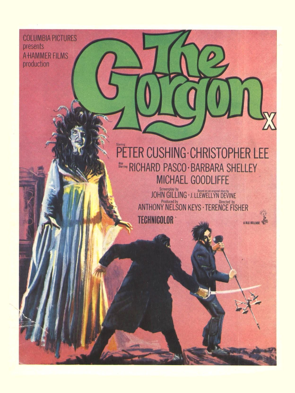 Hammer's The Gorgon (1964).