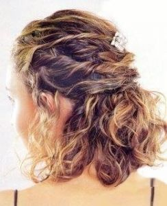 Resultat d 39 imatges de peinados melena corta pentinar se - Peinados de fiesta melena corta ...