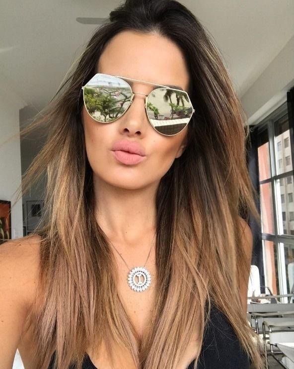 Amamos o modelo Fendi Eyeline no rosto da linda  isanascimento ❤   oticaswanny  isanascimento  fendi  fendieyeline  oculosfendi 8c97d3552b