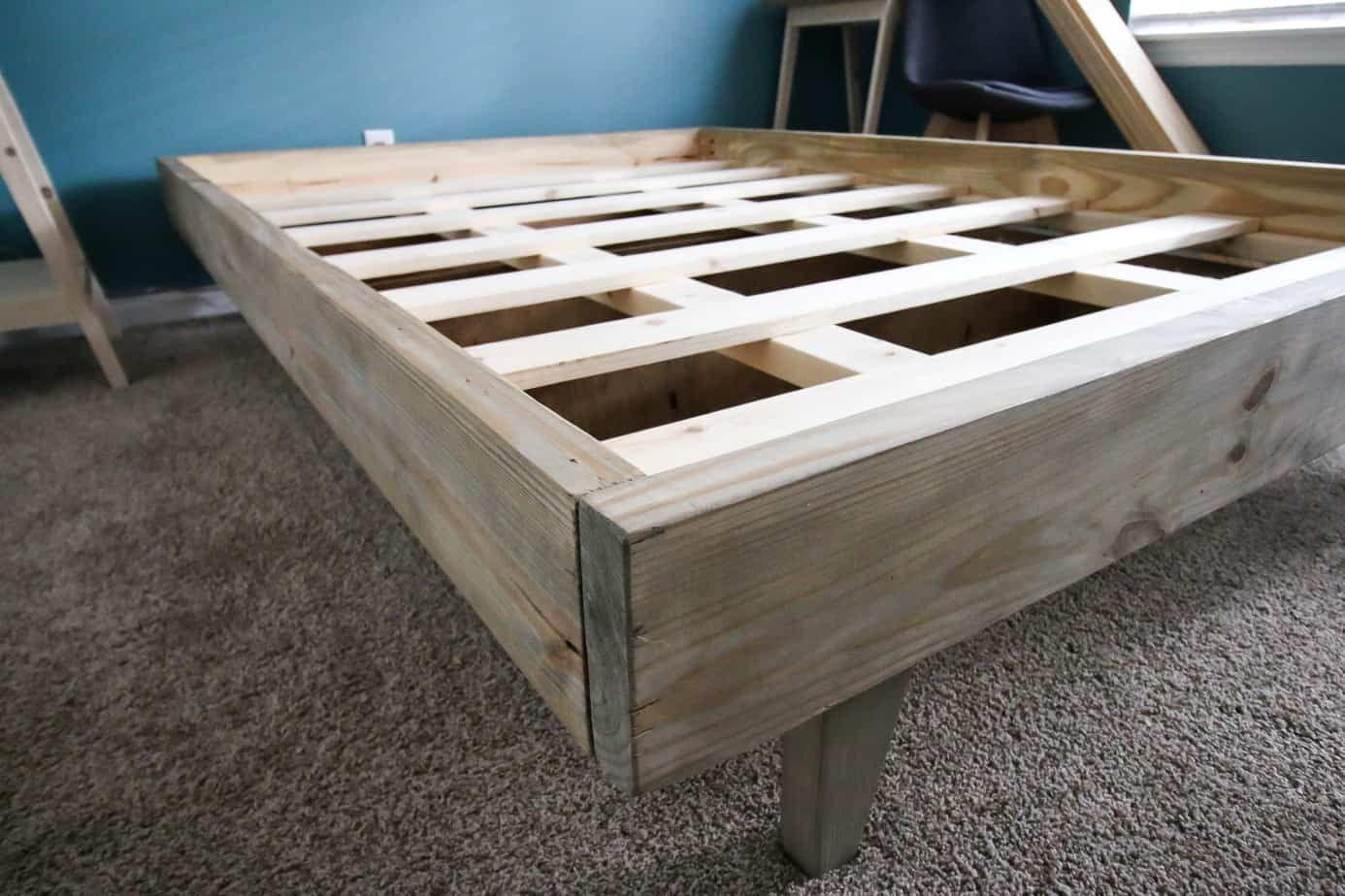 How To Build A Platform Bed For 50 Diy Platform Bed Frame Build A Platform Bed Diy Platform Bed
