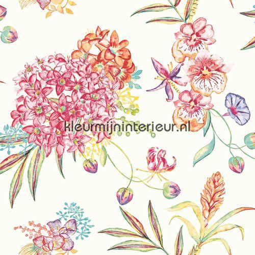 Margarita Tapet 97881 Camille Holden Tapet Margarita Blomster