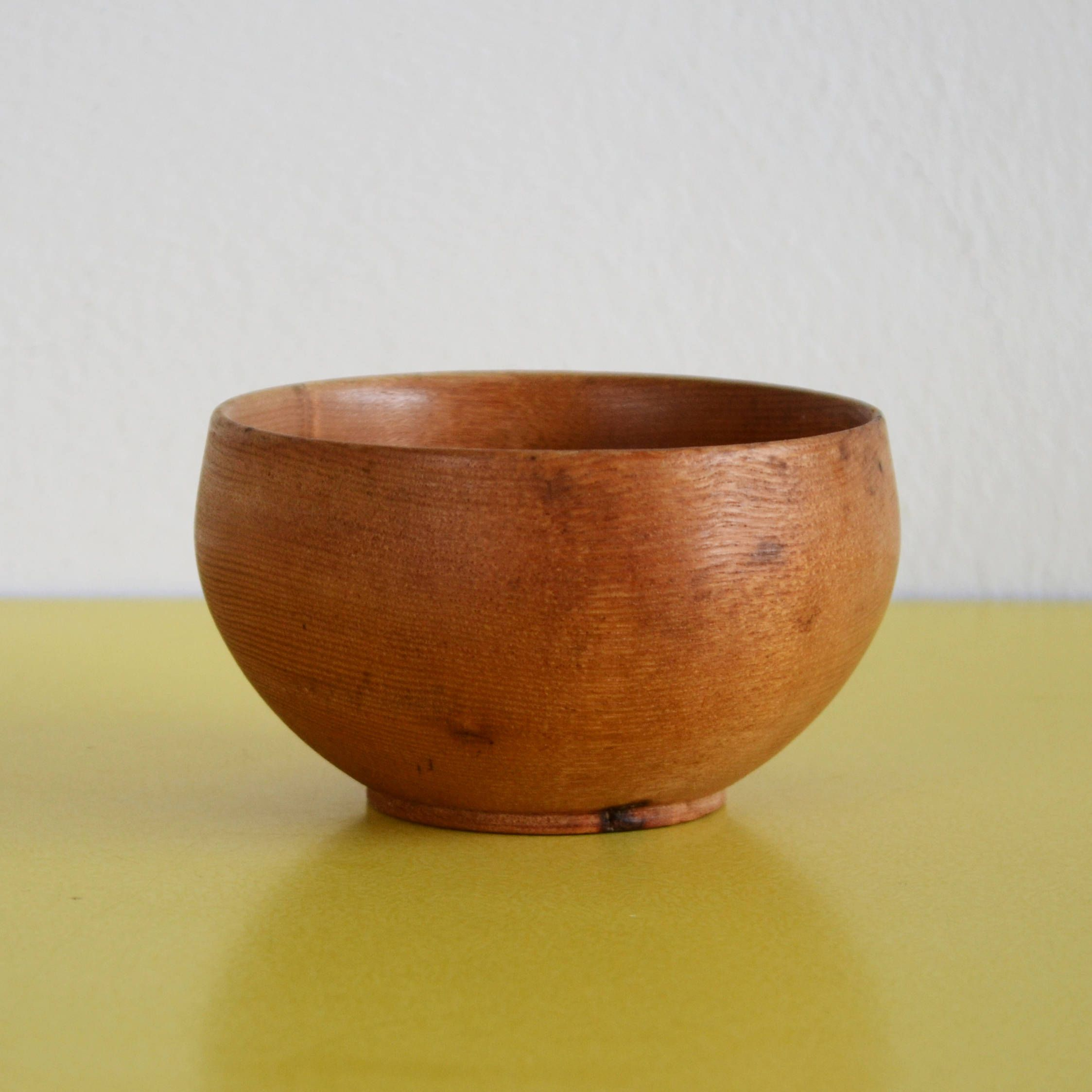 Vintage wooden bowl small rustic wooden trinket dish bohemian wooden decorative bowl rustic wood bowl by littleyellowtable on etsy