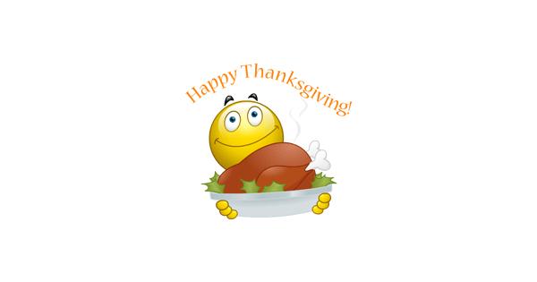 Thanksgiving Emoji Smiley Happy Smiley Happy Thanksgiving