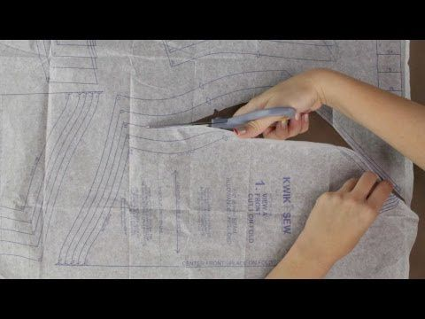 How to Cut Out Sewing Pattern Pieces - Updated   Sewing   Pinterest ...