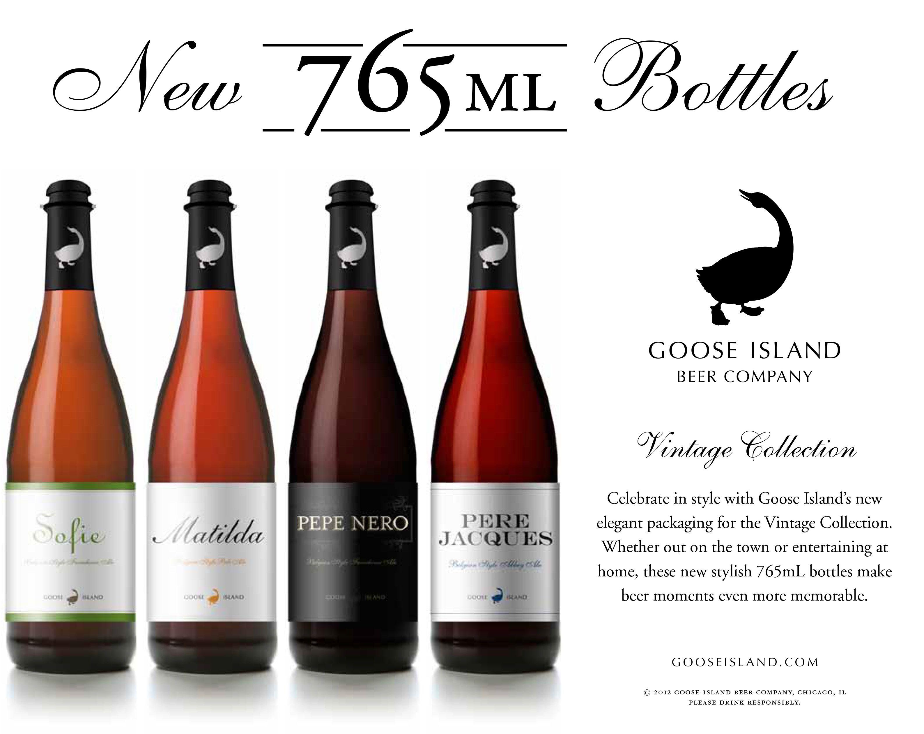 Goose Island Vintage Goose Island Beer Beer Company Craft Beer
