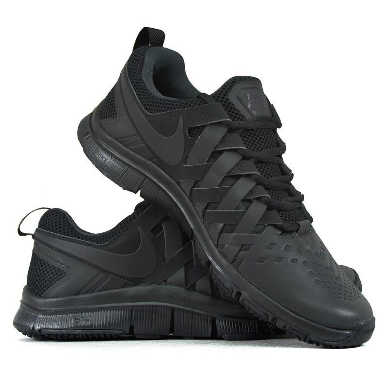 Nike Free Trainer 5 0 579809 005 Obuwie Meskie Sportowe Buty W Dobrej Cenie Black Sneaker All Black Sneakers Nike Free Trainer