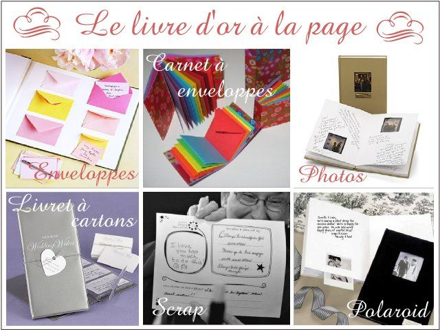 1000 images about scrap livre dor on pinterest guest books champs and tables - Livre Sur Le Mariage