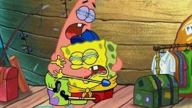 Gambar Spongebob Dan Patrick Sedih 90 Gambar Spongebob Lucu Keren 3d Sedih Zombie Cara Squitword Gambar Animasi Kartun Kertas Dinding Lucu Humor Spongebob