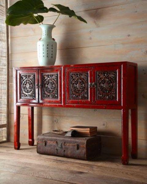 14 Manieres D Offrir Un Parfum Asiatique A Votre Decoration Avec Images Mobilier Asiatique Meuble Decoration De Maison Asiatique