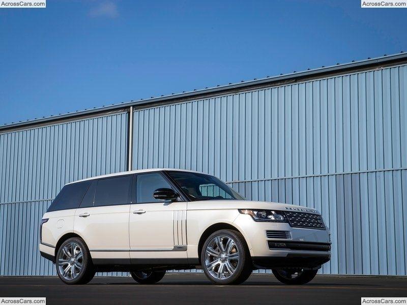 Land Rover Range Rover LWB (2014) Range rover evoque a Luxus