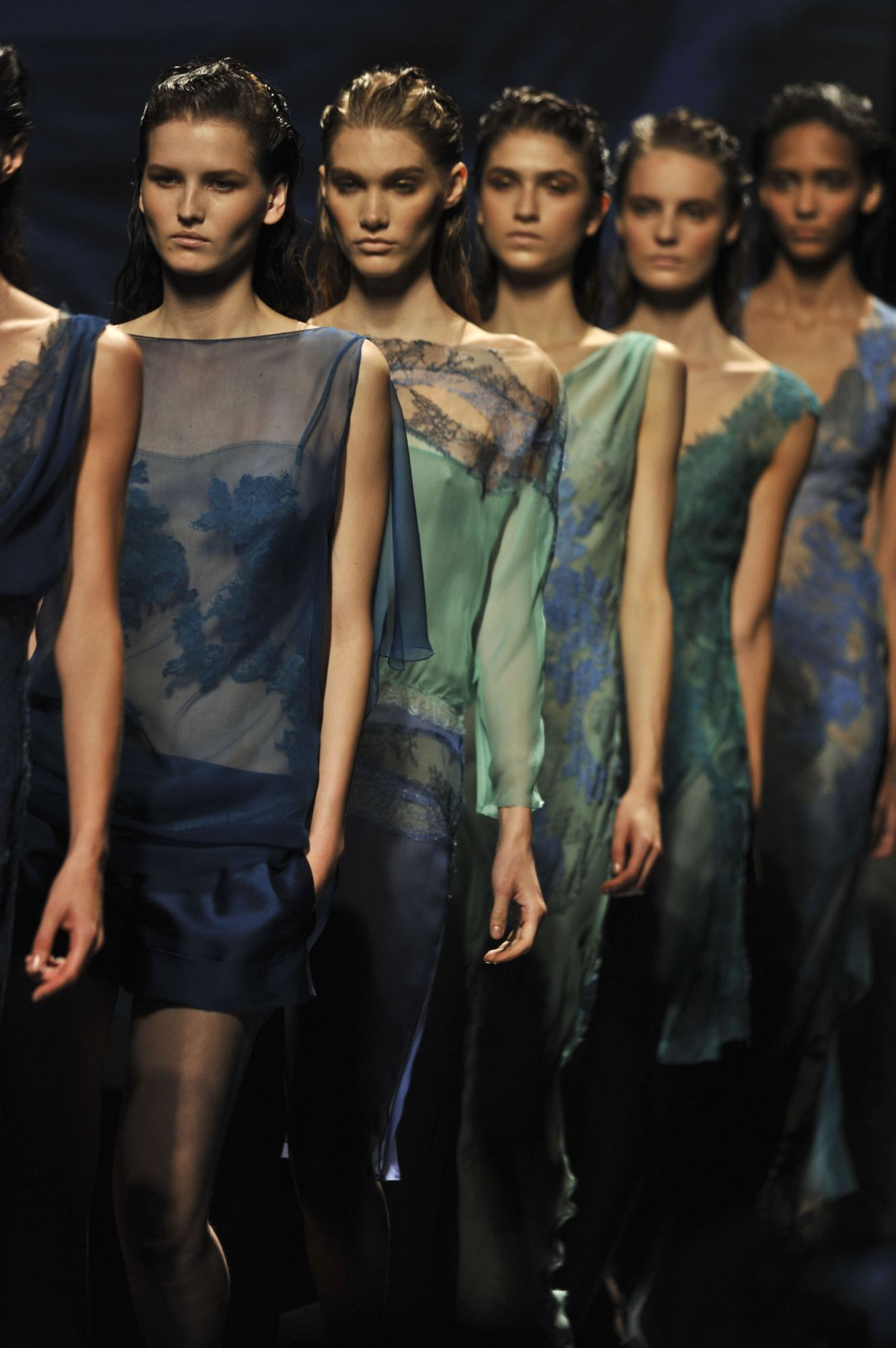 ALBERTA FERRETTI SPRING SUMMER 2013 WOMEN'S COLLECTION | The Skinny Beep