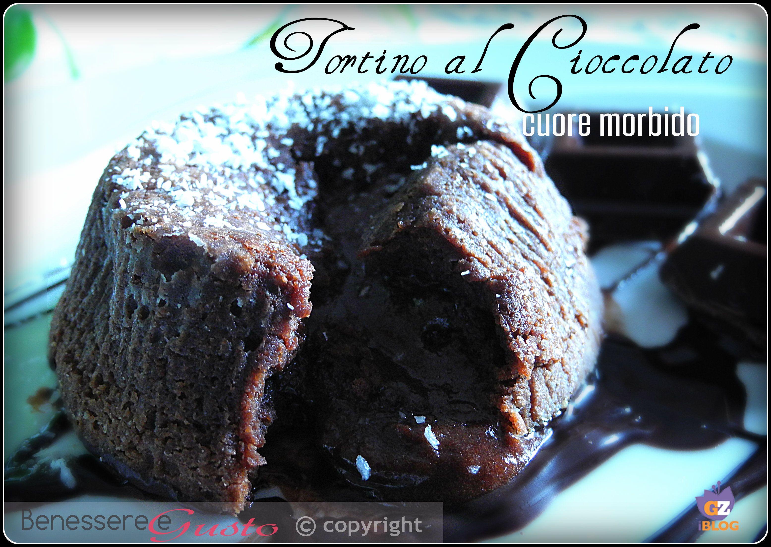 Tortino al cioccolato, cuore morbido e fondente, il piacere avvolgente del cioccolato