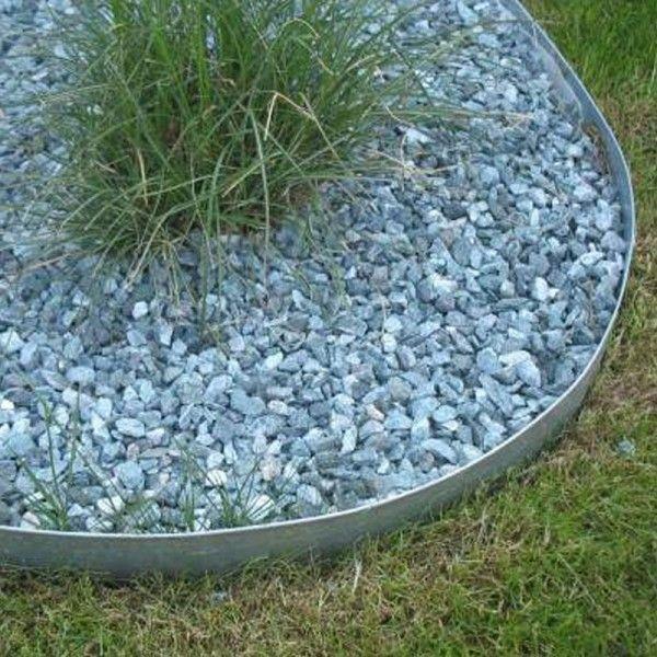 bordure en acier galvanis planter dans le sol ext rieur pinterest gardens. Black Bedroom Furniture Sets. Home Design Ideas