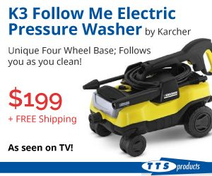 Great pressure Washers to keep your machines pristine!