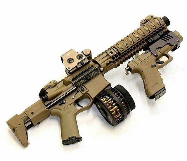 ACR.. Rail Mounted Glock & Large Cap. Magazine