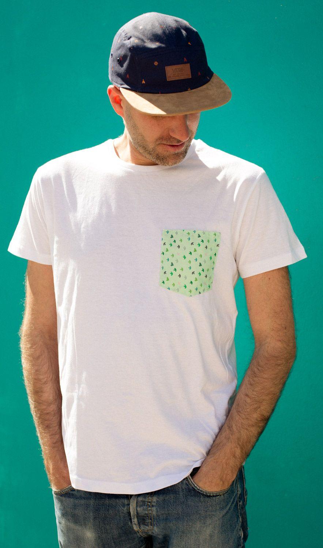 Chicos que van la mar de monos con su camiseta de bolsillo f52690afeea