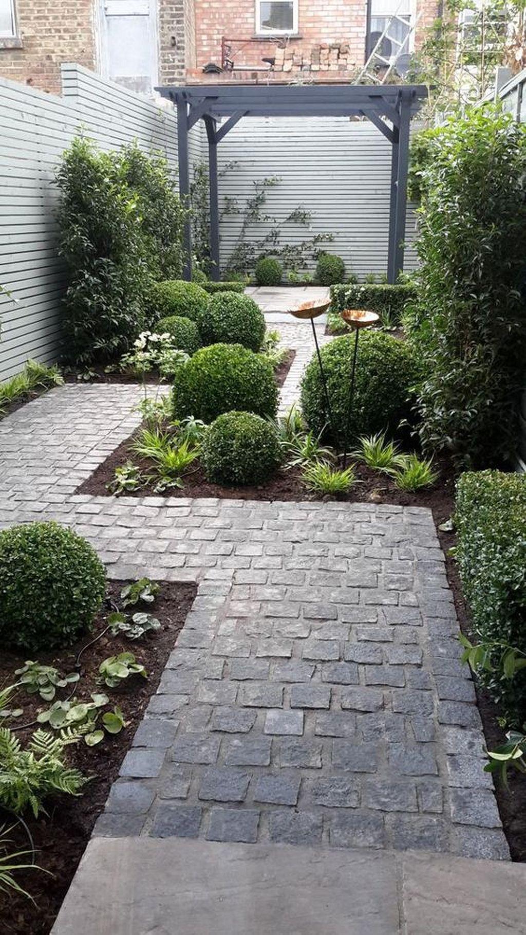 Small Backyard Landscaping Ideas 40 Taman Indah Kebun Eksterior Backyard landscaping ideas for a small yard