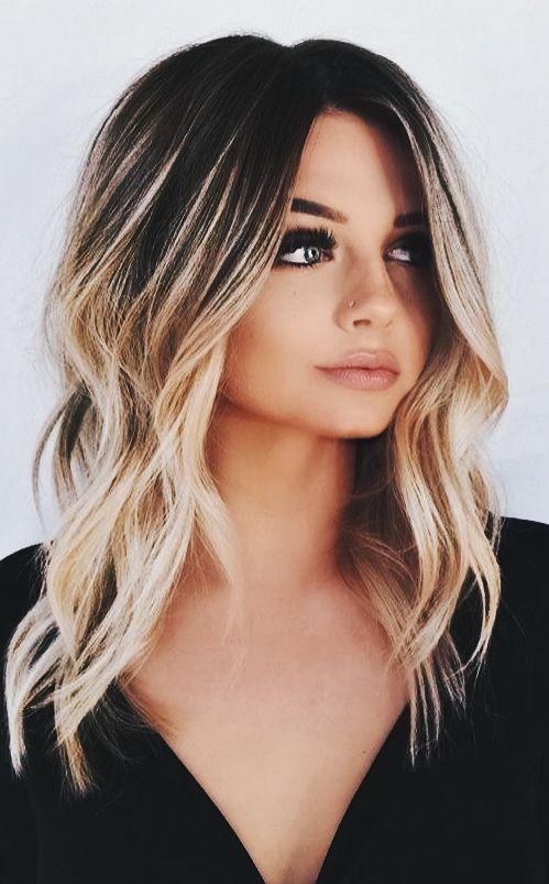Pinterest Sylvia M Elegant Hair Hairstyle Fashion Style Love Hair And Beauty Long Hair Inspiration Colors Hair Styles Balayage Hair Hair Lengths