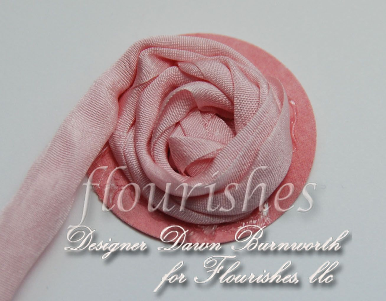 Welcome to flourishes papercrafting cardmaking exclusive clear explore ribbon flower tutorial blooming flowers and more mightylinksfo