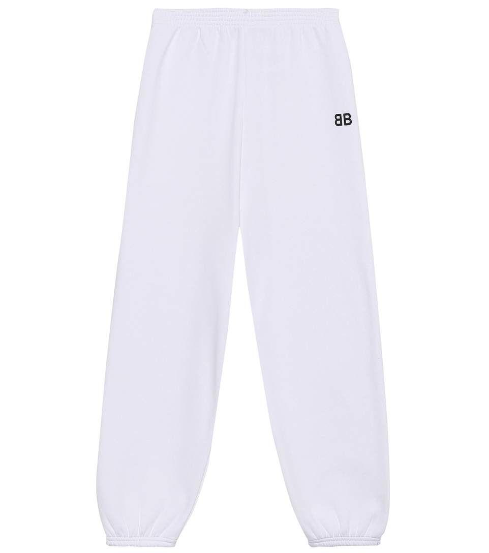 Cheap 100% Original Kids cotton-blend trackpants Balenciaga Sale Newest Free Shipping Low Shipping Buy Cheap For Sale W6NUn2