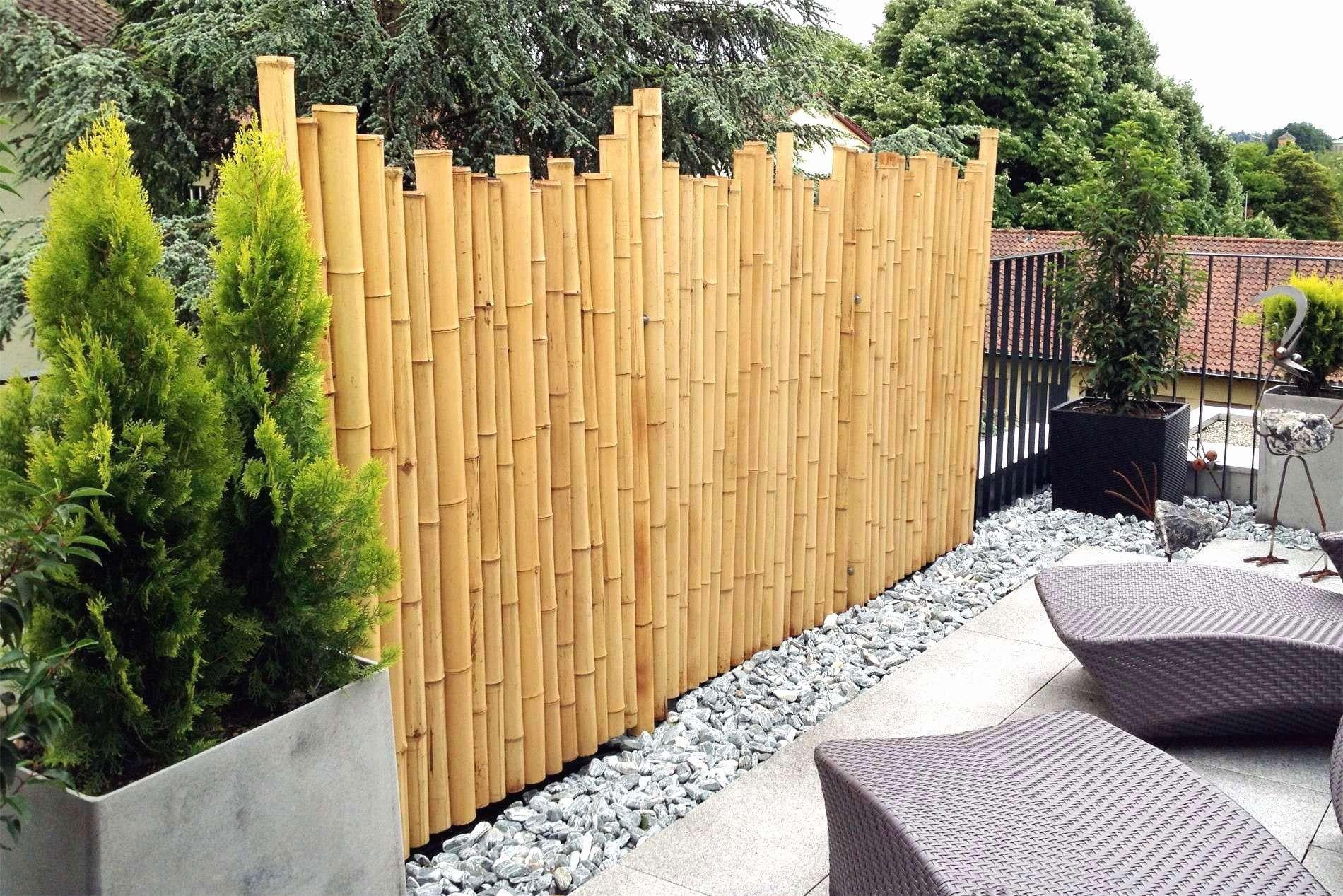 Frisch 45 Fur Naturzaun Selber Bauen Sichtschutz Terrasse