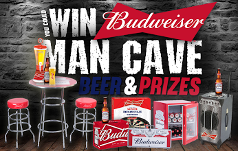 Man Cave Hours : Help me win a budweiser man cave! https: wn.nr wy2ymf ends in 4