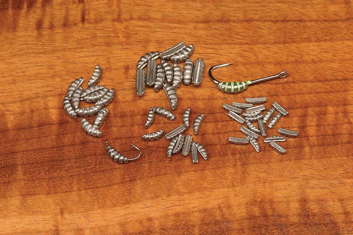 Ribbed Fly Tying TUNGSTEN SCUD SHRIMP BODIES