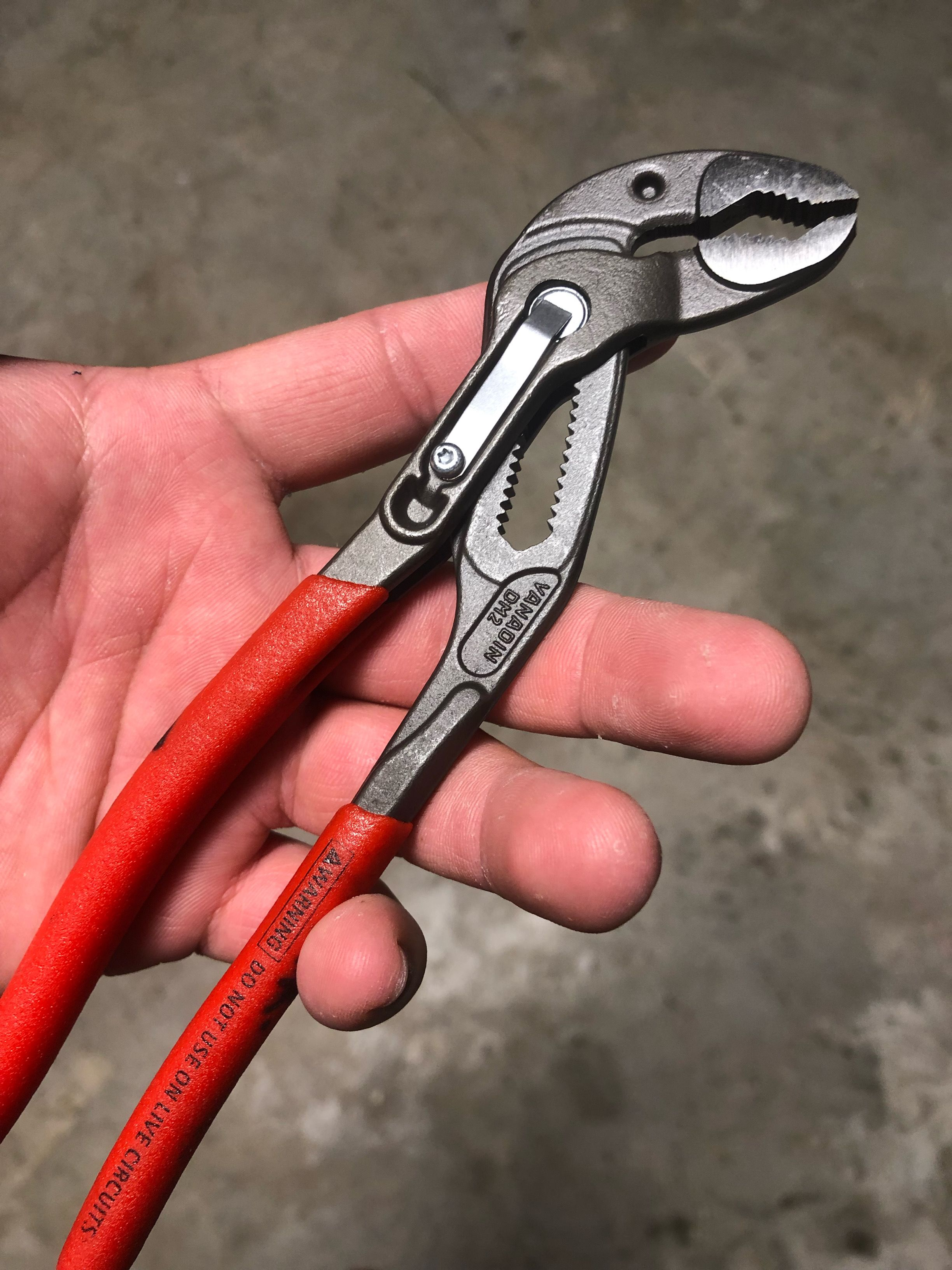 Forget Those Channellocks Buy These Knipex Pliers Instead Best Pliers Out There I Highly Recommend Knipex Pliers Pl Tools Garden Tools Pliers
