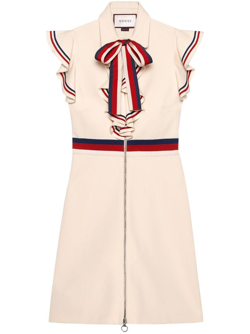 Photo of Gucci Sylvie Web Stretch Jersey Dress