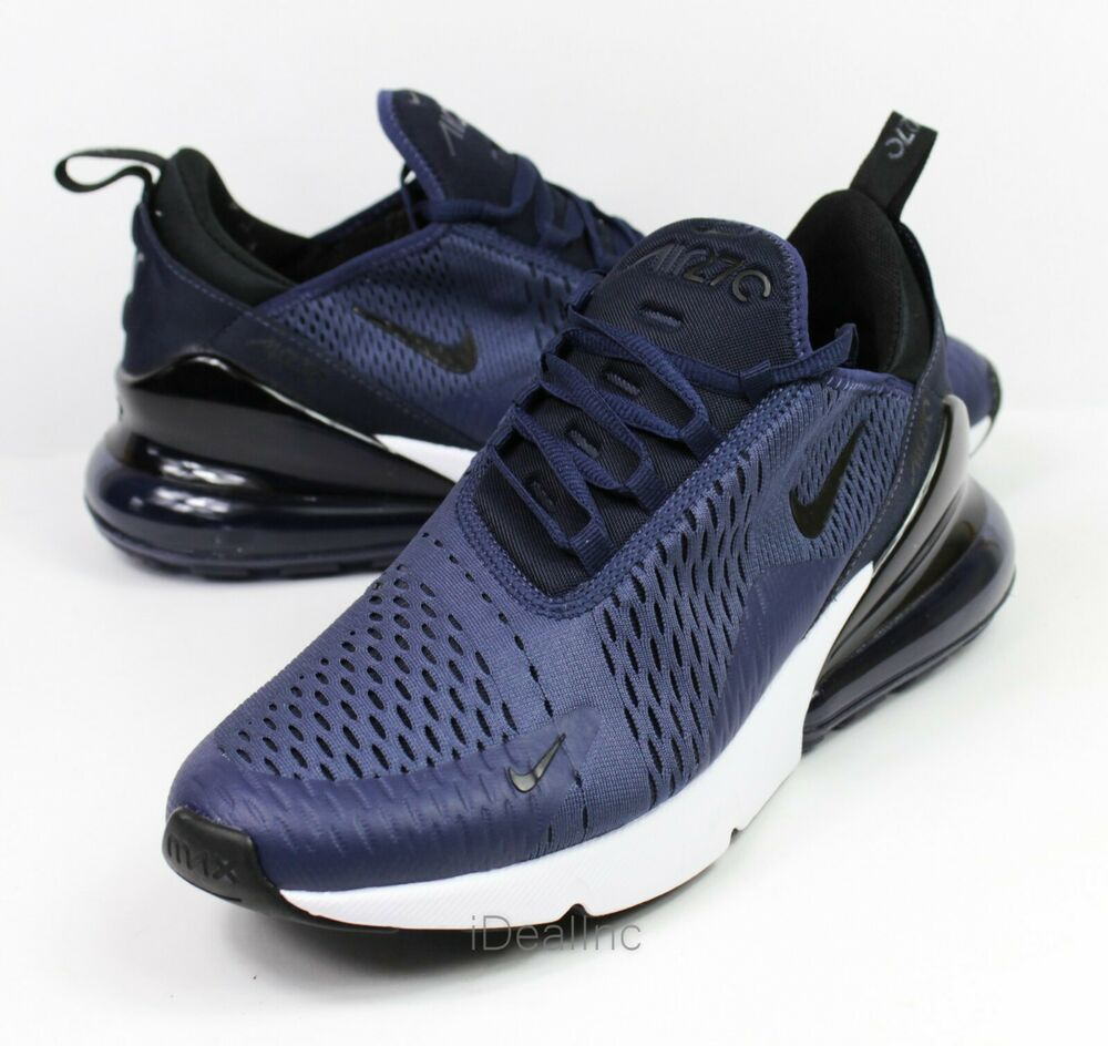 Nike Air Max 270 Midnight Navy. Cool Nike sneakers worn by