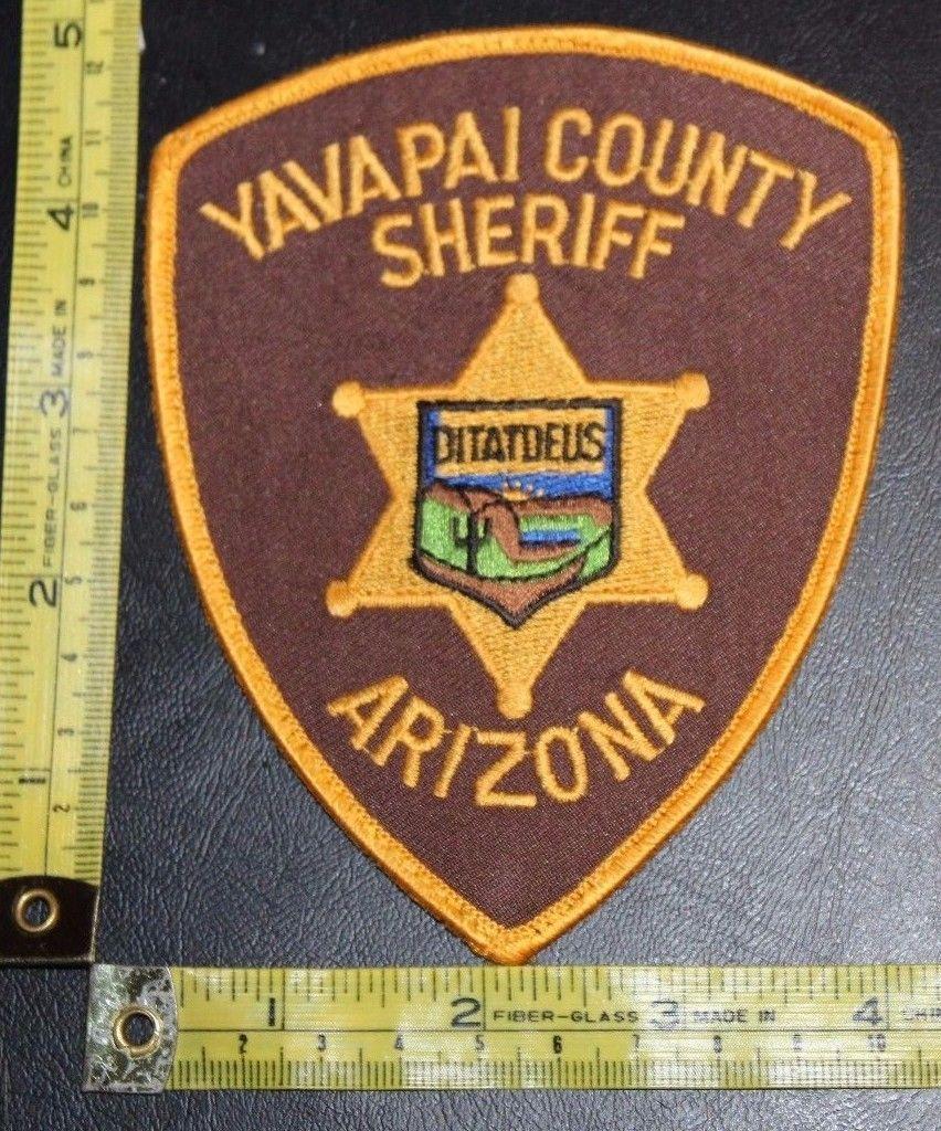 Yavapai County Sheriff Arizona Police Department Shoulder Patch • $5.95 - PicClick