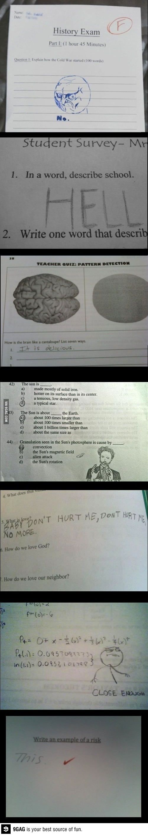 college answers