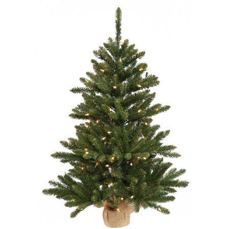 Vickerman 42 inch Anoka Pine Artificial Christmas Tree with 150