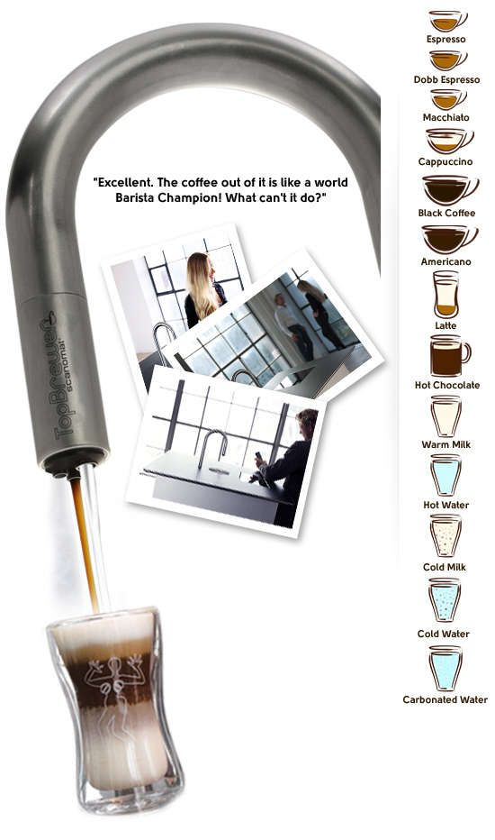 Hi Tech Coffee Taps   The Scanomat Top Brewer Reinterprets Caffeine  Machines (GALLERY)