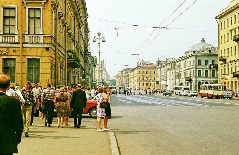 Travelling Throughout Leningrad In The 1960s | English Russia