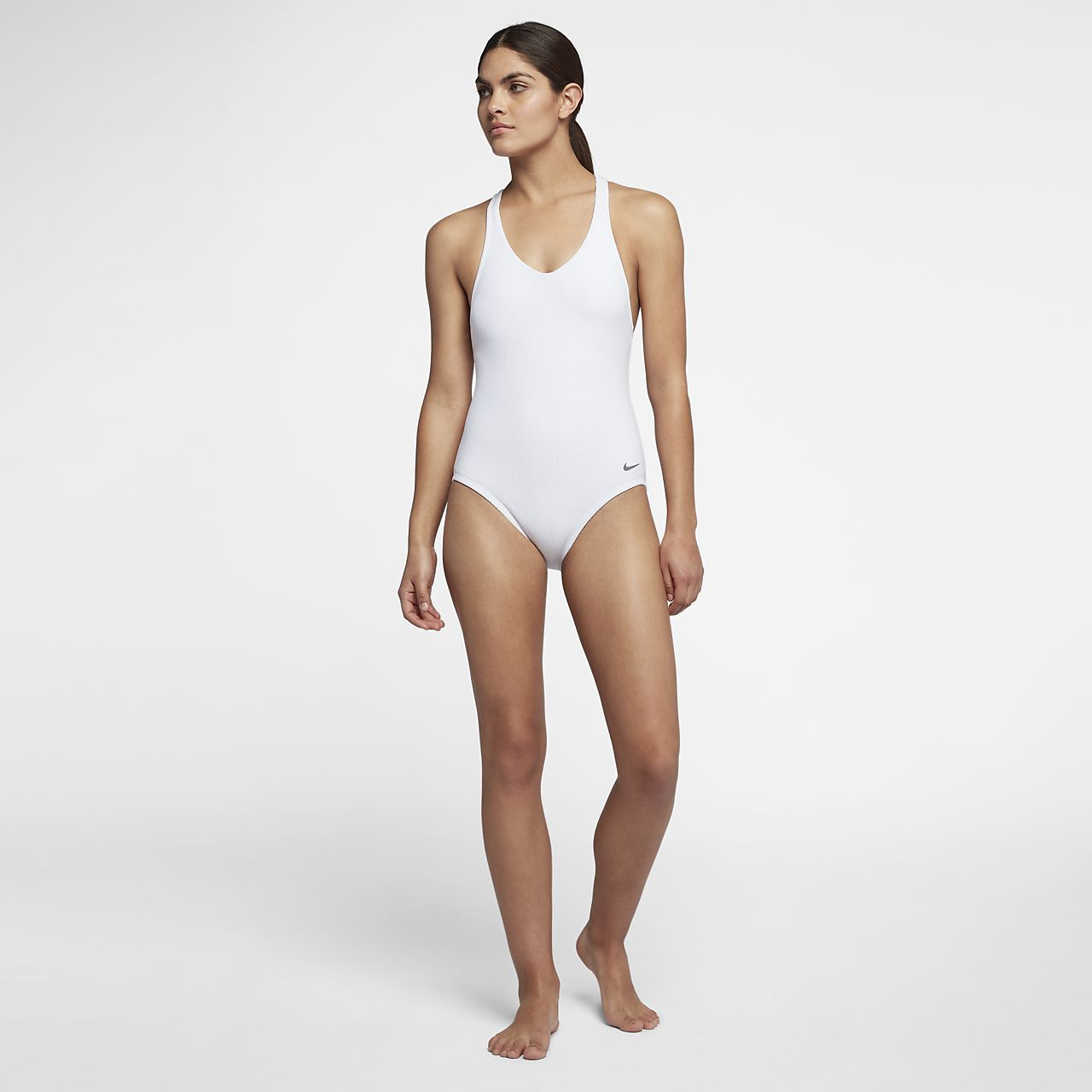 a7d6ae537d71c Nike Rib Racerback One-Piece Women's Swimsuit | self adorning in ...