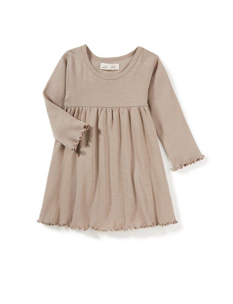0ce98a08f5f8 Little Peanut Long Sleeve Dress - View All - Categories - baby girls ...