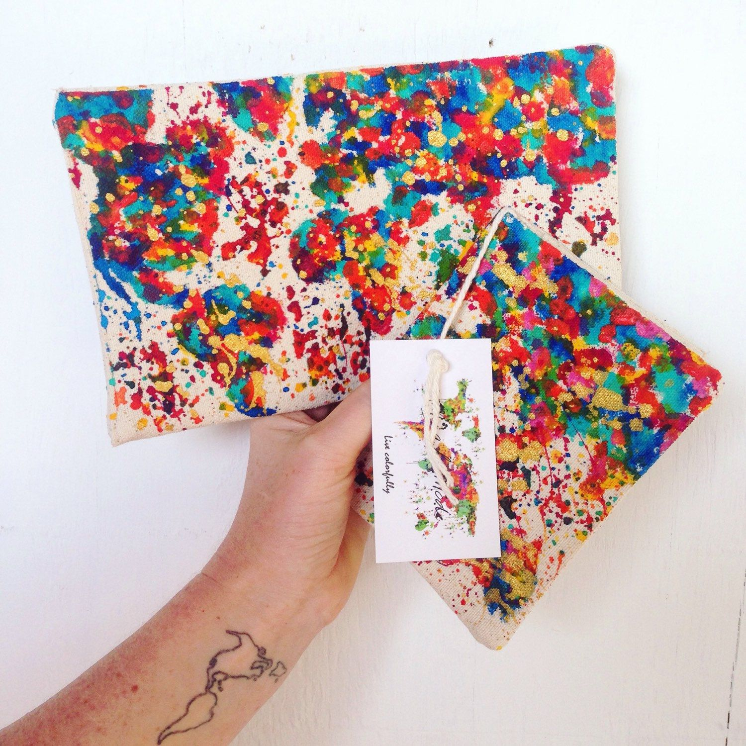 Splatter map of the world passport covers are the perfect gift for that fellow lover of travel  shop now!