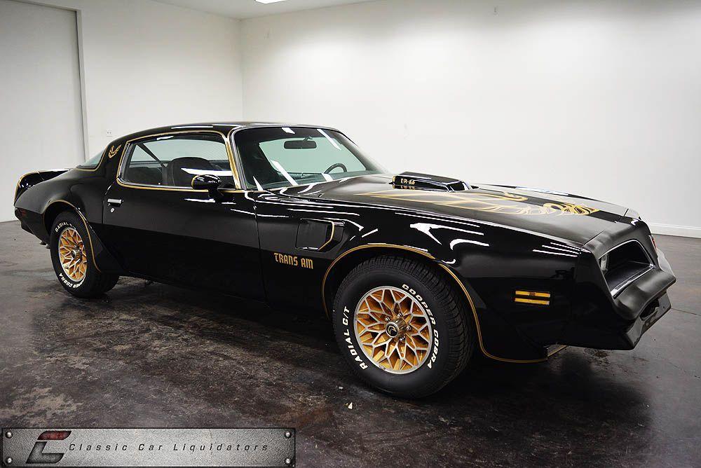 1978 Pontiac Trans Am For Sale at Classic Car Liquidators is listed ...