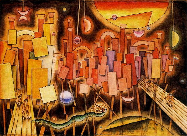 """Xul Solar """"Palacio Almi"""", 1932"""