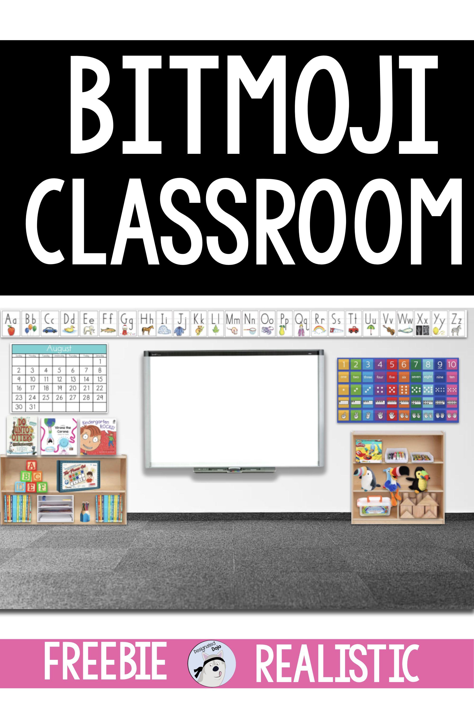 Bitmoji Classroom in 2020 Google classroom math