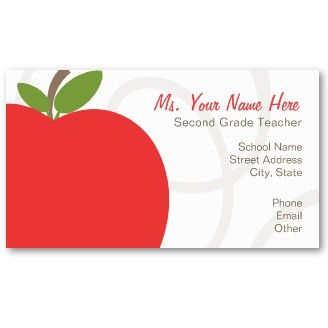 Teacher Business Cards 17 000 Business Card Templates Teacher Business Cards Teacher Second Grade Teacher