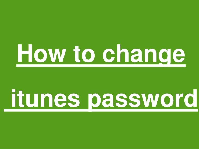 Forgetting your iTunes password can create a number of problems
