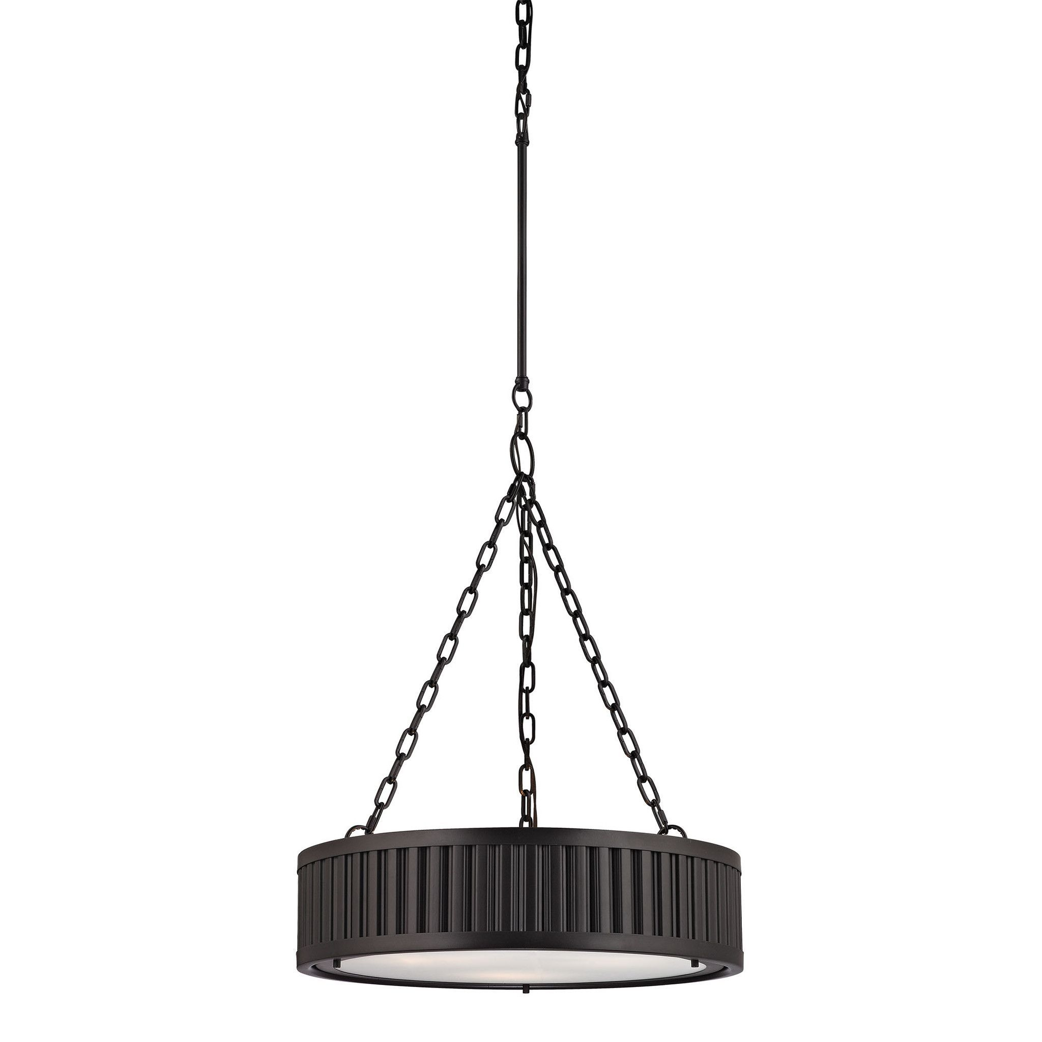 ELK Lighting 46134/3 Linden Manor Collection Oil Rubbed Bronze Finish