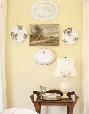 Inspire Bohemia: Beautiful Wall Decor and Art: Plates: Part II ...