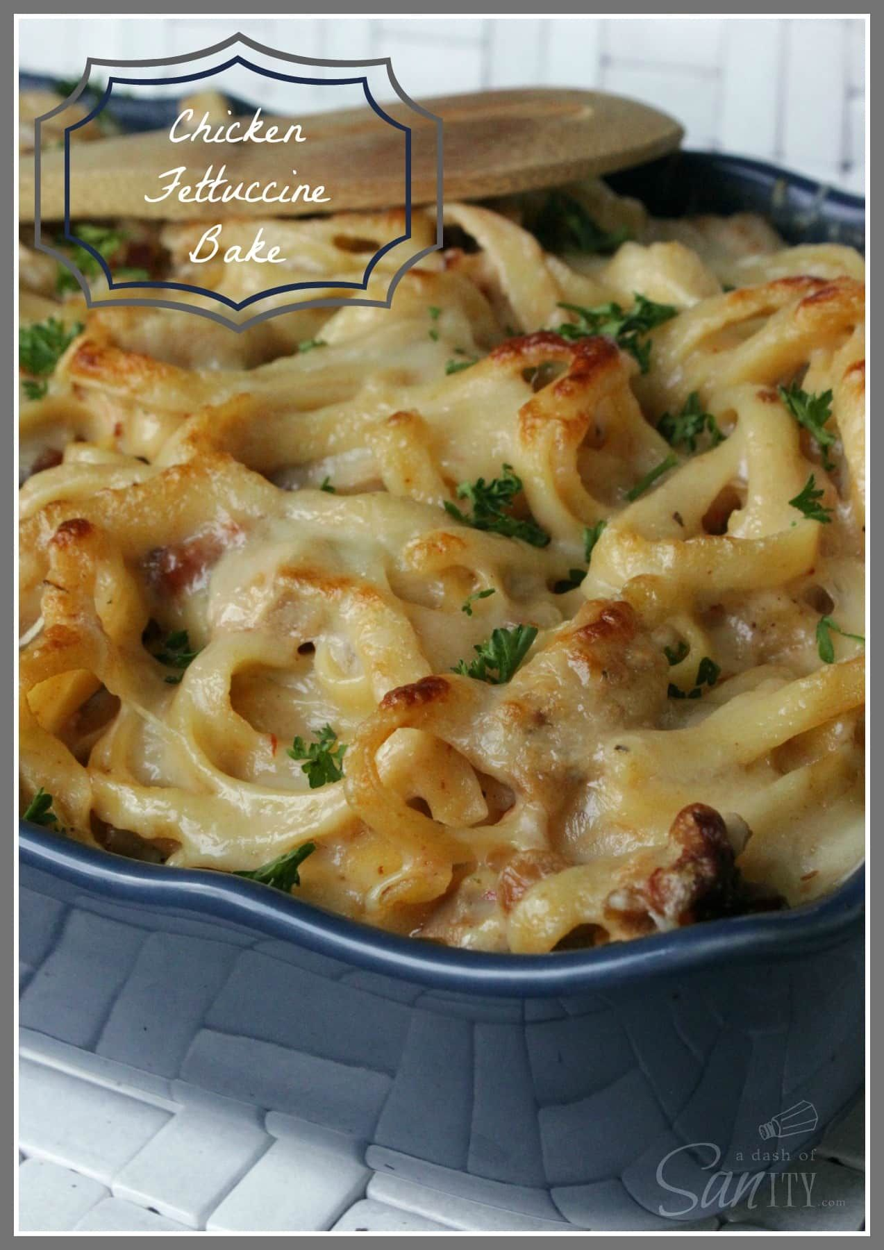 Photo of Chicken Fettuccine Bake – A Dash of Sanity