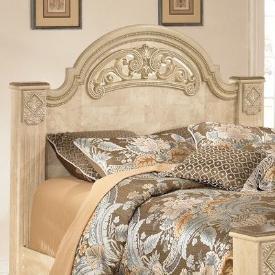 Signature Design by Ashley Saveaha Panel Headboard Size: Queen