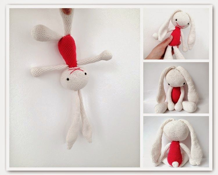 Easter Bunny (link to free pattern) | Amigurumi | Pinterest ...
